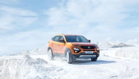 Tata Harrier launched in India