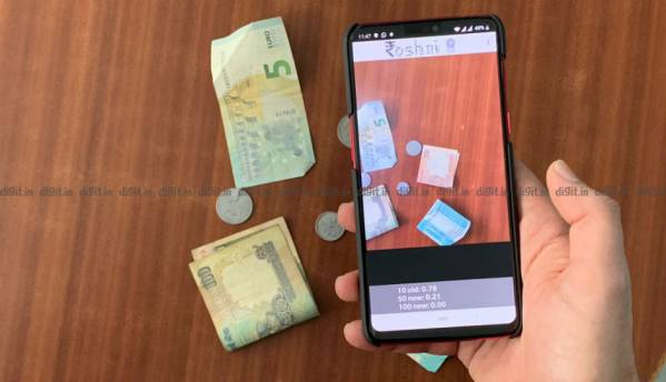 Roshni, an Android app developed by IIT Ropar helps the visually impaired recognise Indian currency notes