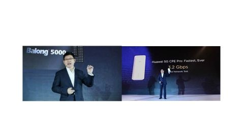 Huawei launches 5G multi-mode chipset Balong 5000 and 5G CPE Pro router