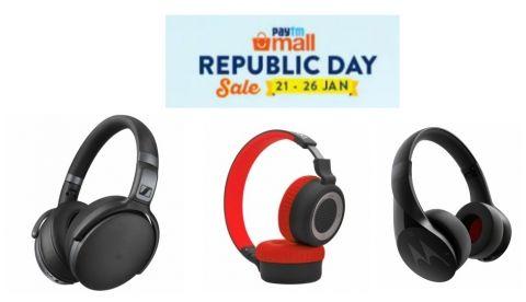 Paytm Mall Republic Day sale: Best deals on Headphones