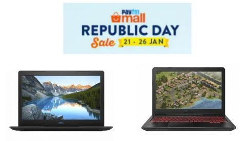 Paytm Mall Republic Day sale: Best deals on gaming laptops