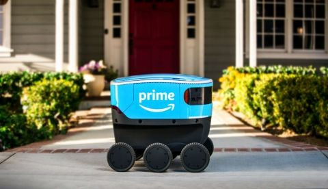 Amazon Scout delivery robots start delivery in US county