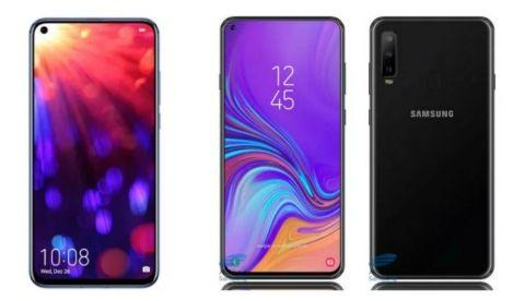 Specs comparison: Honor View 20 vs Samsung Galaxy A8s