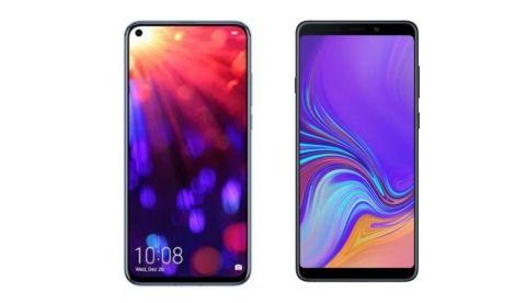 Specs comparison: Honor View 20 vs Samsung Galaxy A9