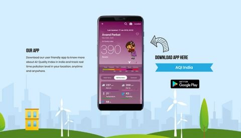 AQI India launches mobile app for tracking air pollution levels
