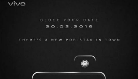 a44da7c7374 Vivo V15 Pro with pop-up selfie camera launching in India on February 20