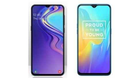 Specs comparison: Samsung Galaxy M10 vs RealMe U1