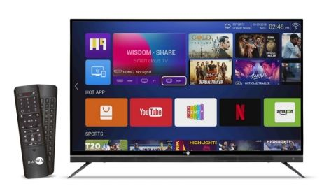 Daiwa 65-inch 4K ultra HD Quantum Luminit Smart LED TV launched in India at Rs 66,990