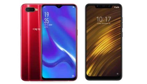 Specs comparison: Oppo K1 vs Xiaomi Poco F1