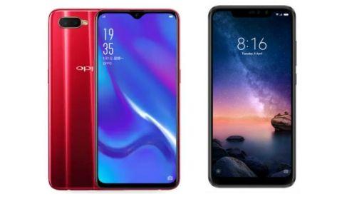 Specs comparison: Oppo K1 vs Xiaomi Redmi Note 6 Pro