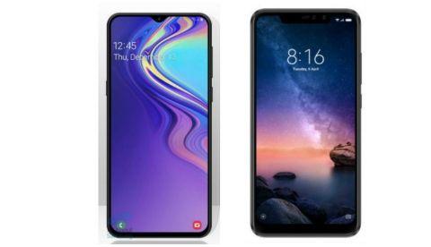 476548392 Specs comparison  Samsung Galaxy M20 vs Xiaomi Redmi Note 6 Pro