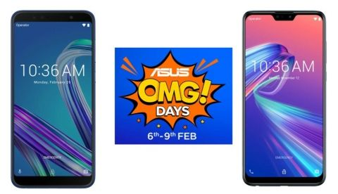 Asus OMG Days sale: Offers on Asus Zenfone Max Pro M2, Asus Zenfone Max Pro M1 and more