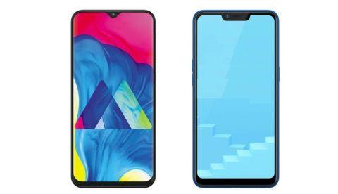 Specs comparison: Samsung Galaxy M10 vs RealMe C1