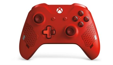 Microsoft announces Sport Red Special Edition controller for the Xbox One