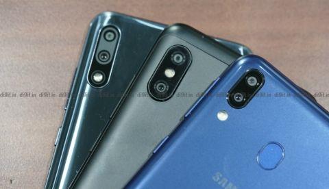 Samsung Galaxy M20 vs Asus Zenfone Max Pro M2 vs Xiaomi