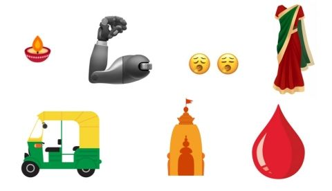 Emoji version 12.0 final list includes hindu temple, sari, auto rickshaw, diya, and more