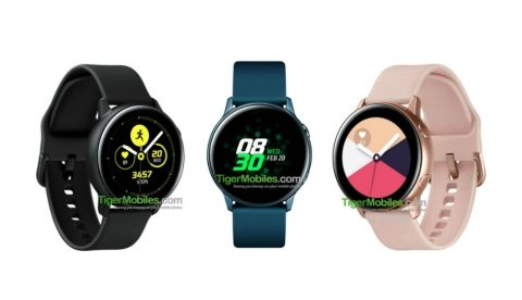 Samsung Galaxy Sport smartwatch may be renamed to Galaxy Watch Active, specs leaked