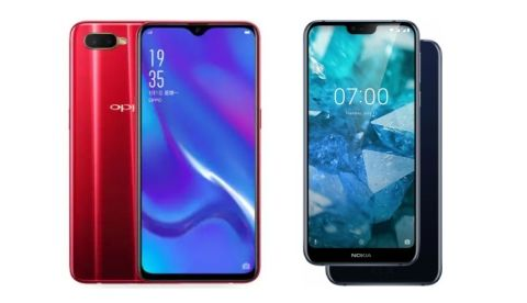 Specs comparison: Oppo K1 vs Nokia 7.1