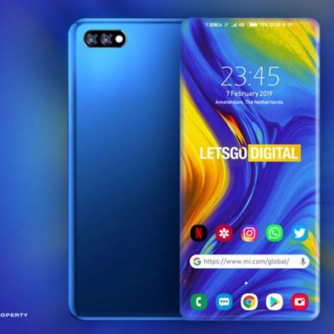 Xiaomi patents smartphone display with four curved sides