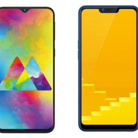 Specs comparison: Samsung Galaxy M20 vs RealMe C1 (2019)