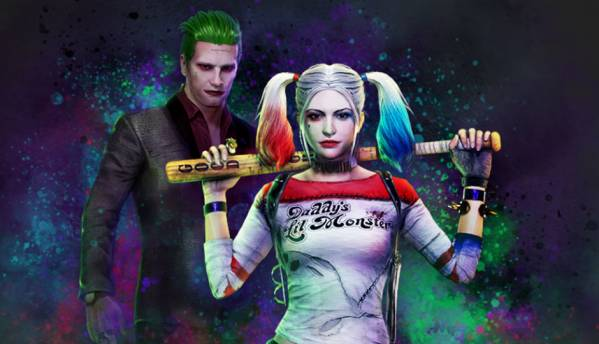 PUBG PS4 Joker and Harley Quinn skins now available