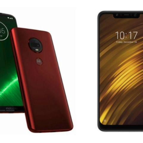 Specs comparison: Moto G7 vs Xiaomi Poco F1