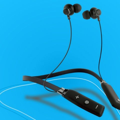 Sound One launches X60 Neckband wireless bluetooth earphones with MIC in India