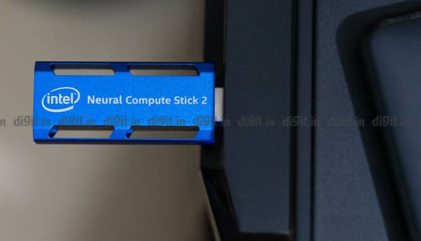 Intel Neural Compute Stick 2: AI in the palm of your hand