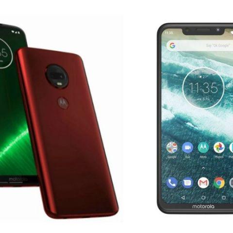 Specs comparison: Moto G7 vs Motorola One Power