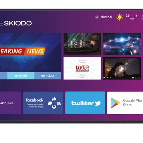 Noble Skiodo launches its first 39-inch Smart HD TV with Intelligent UI