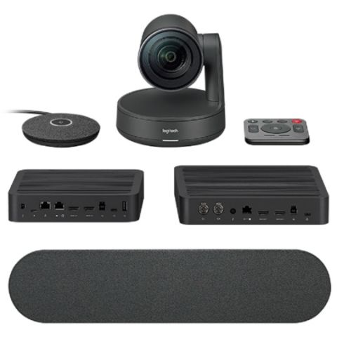 Logitech Rally modular ConferenceCam with  modular audio components launched in India