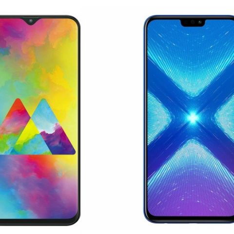 Specs comparison: Samsung Galaxy M20 vs Honor 8X