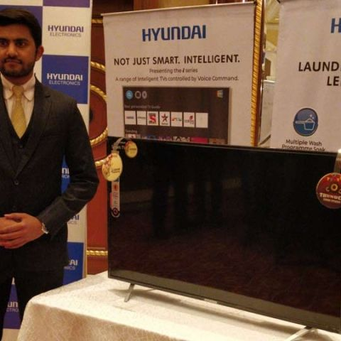 Hyundai enters into the consumer electronics and home appliances market in India