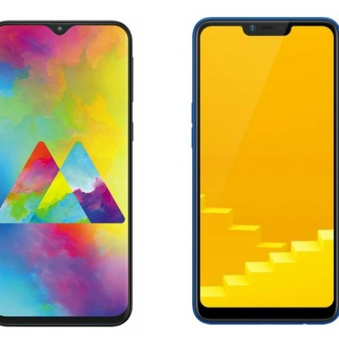 Specs comparison: Samsung Galaxy M10 vs RealMe C1 (2019)