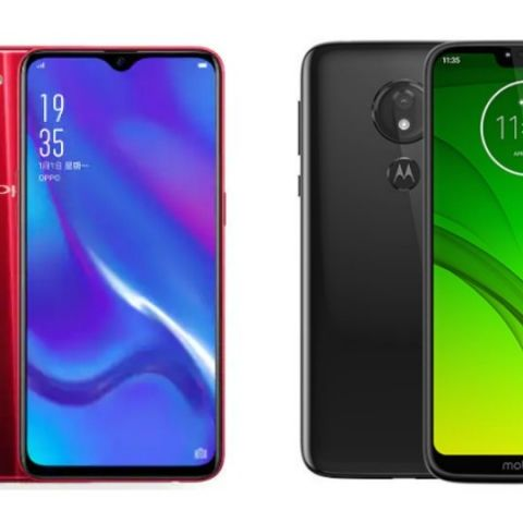 Specs comparison: Oppo K1 vs Moto G7 Power
