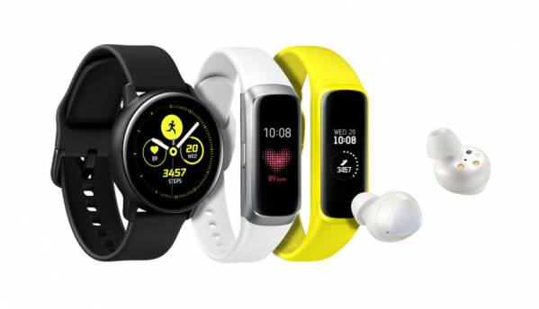 Samsung Galaxy Watch Active, Galaxy Fit activity tracker and Galaxy Buds cord-free earphones launched alongside new Galaxy smartphone lineup