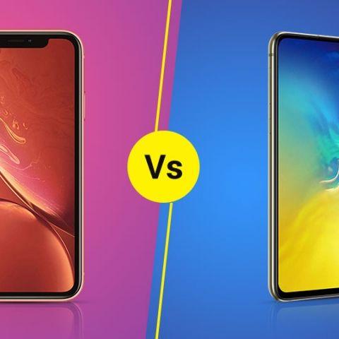 Samsung Galaxy S10e vs Apple iPhone XR: Comparing the cheaper premium flagship phones