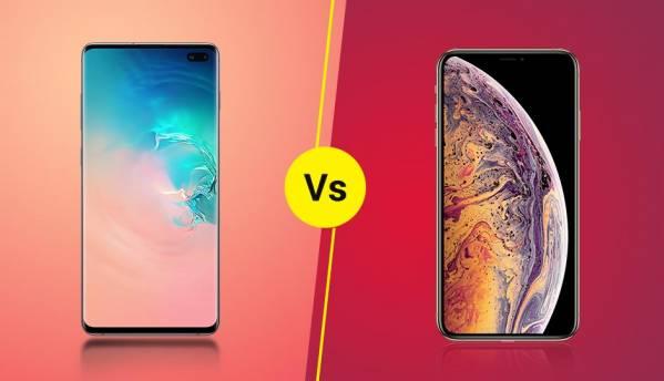 Specs Comparison: Samsung Galaxy S10+ vs Apple iPhone XS Max