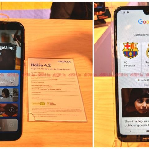 Nokia 3.2 and Nokia 4.2 announced with dedicated Google Assistant button, U-shaped notch and breathing notification light