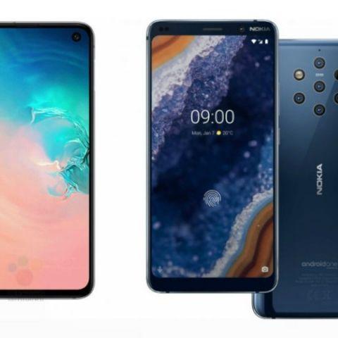 Specs comparison: Samsung Galaxy S10 vs Nokia 9 PureView