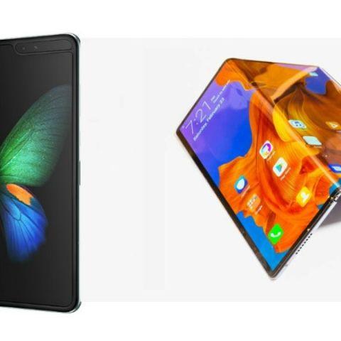 Specs comparison: Samsung Galaxy Fold vs Huawei Mate X