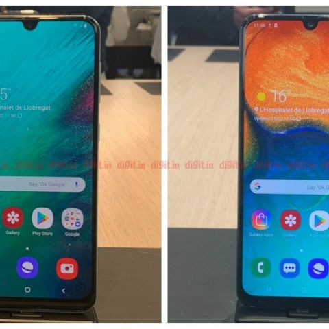 d3d15becd84 Samsung Galaxy A50, Galaxy A30 smartphones with 6.4-inch FHD+ display,  4000mAh battery announced at MWC 2019