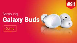 Samsung Galaxy Buds | First Look & Demo | Digit.in