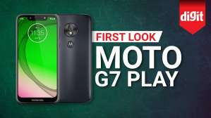Moto G7 Play | First Look | Digit.in
