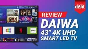 Daiwa 43 inch 4K TV In depth Review | Digit.in