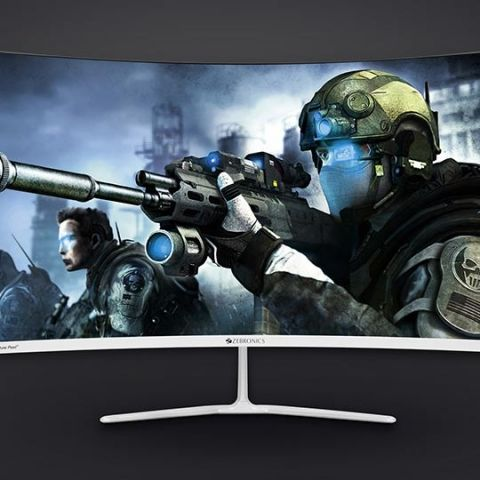 Zebronics launches ZEB-AC32FHD, a 32-inch 144Hz Curved LED monitor for Rs.26,999