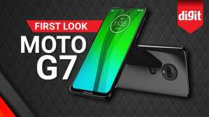Moto G7 | First Look | Digit.in