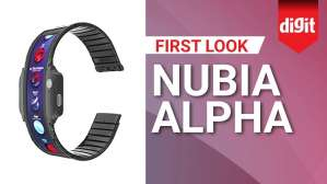 This 4 inch Smartwatch is also a Smartphone | Nubia Alpha | First Look | Digit.in