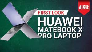 Huawei MateBook X Pro Laptop | Digit.in