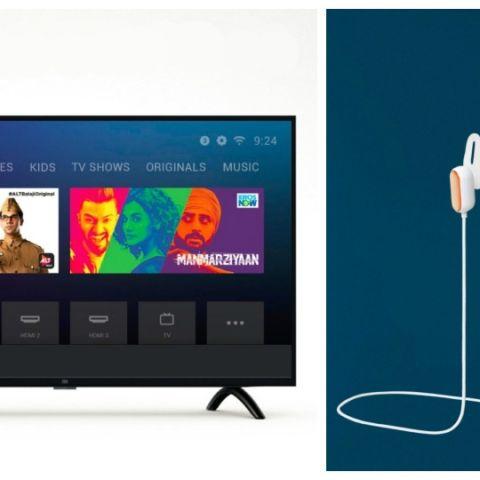 Xiaomi Mi LED TV 4A PRO, Mi Sports Bluetooth Earphones Basic launched in India alongside Redmi Note 7 Pro